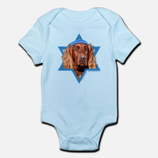 Hanukkah Star of David - Setter Infant Bodysuit