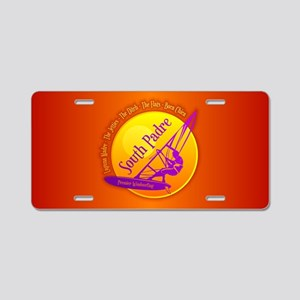 South Padre WS Aluminum License Plate