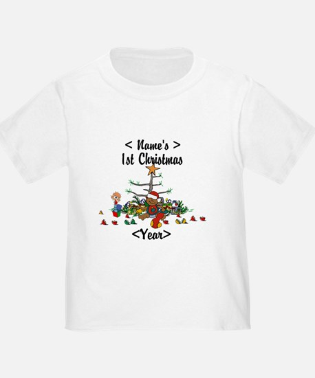 Personalized 1st Christmas T