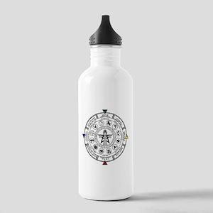 Wheel of the Year Zodiac Sabats Water Bottle
