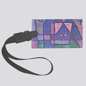 Klee: Small Room in Venice Large Luggage Tag