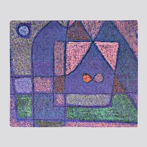 Klee: Small Room in Venice Throw Blanket
