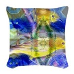 Nature Reflections I Woven Throw Pillow