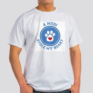Mudi/My Heart Ash Grey T-Shirt