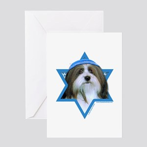 Hanukkah Star of David - Neezer Greeting Card