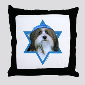 Hanukkah Star of David - Neezer Throw Pillow