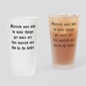 Married Men Drinking Glass