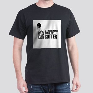 Mind out of the Gutter - Bowler Dark T-Shirt