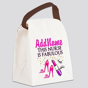 FABULOUS NURSE Canvas Lunch Bag