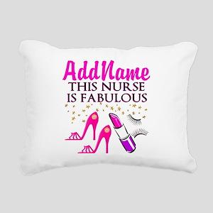 FABULOUS NURSE Rectangular Canvas Pillow
