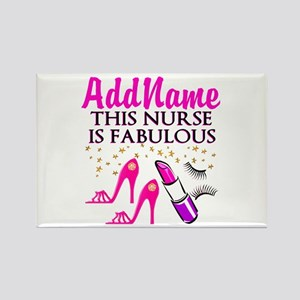 FABULOUS NURSE Rectangle Magnet