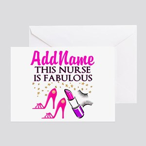FABULOUS NURSE Greeting Card