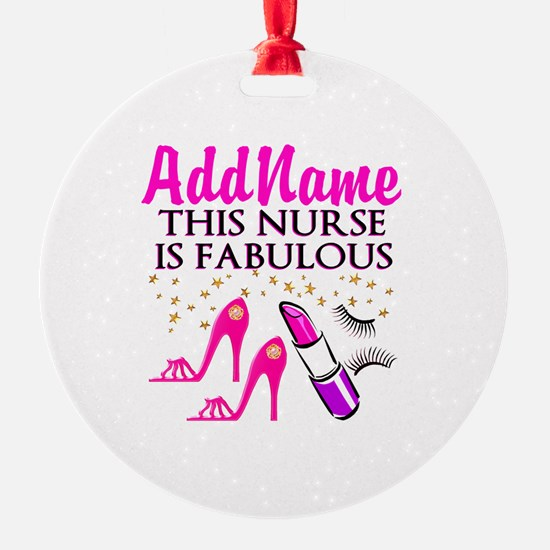 FABULOUS NURSE Ornament
