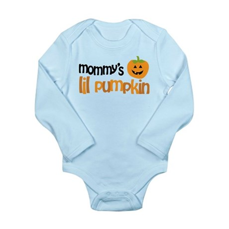 Mommy's Lil Pumpkin Long Sleeve Infant Bodysuit