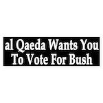 al Qaeda Wants You to Vote For Bush