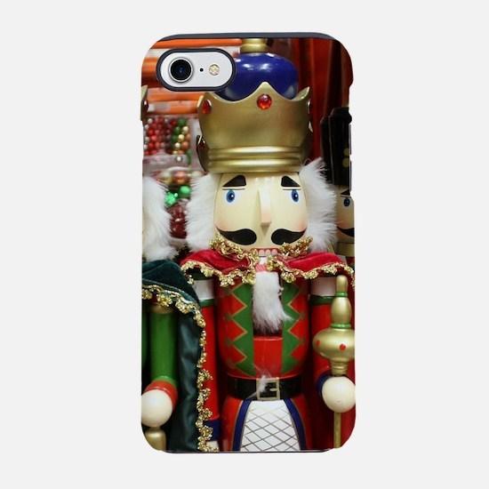 Nutcracker Christmas Soldiers iPhone 7 Tough Case