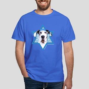 Hanukkah Star of David - Dane Dark T-Shirt