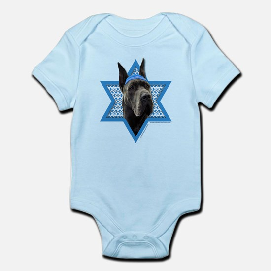 Hanukkah Star of David - Dane Infant Bodysuit