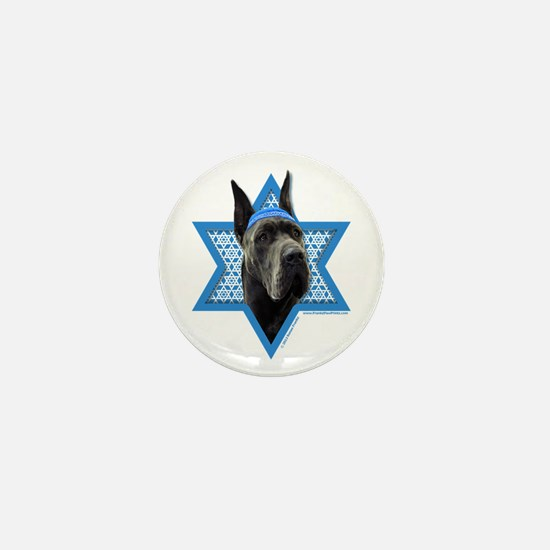 Hanukkah Star of David - Dane Mini Button