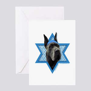 Hanukkah Star of David - Dane Greeting Card