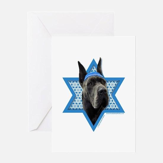 Hanukkah Star of David - Dane Greeting Card