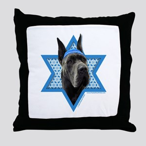 Hanukkah Star of David - Dane Throw Pillow