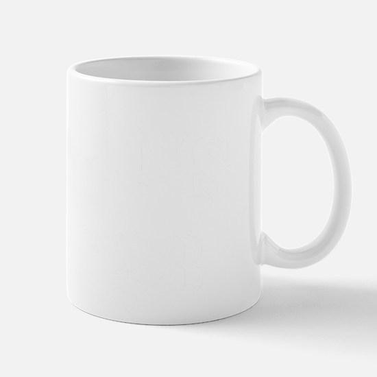 evans white letters Mug