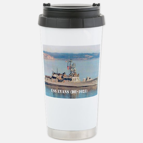 evans greeting card Stainless Steel Travel Mug