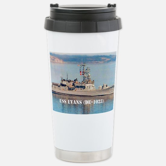evans postcard Stainless Steel Travel Mug