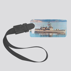 evans sticker Small Luggage Tag