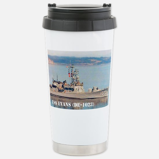 evans small poster Stainless Steel Travel Mug