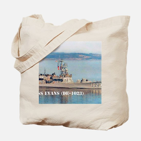 evans small poster Tote Bag
