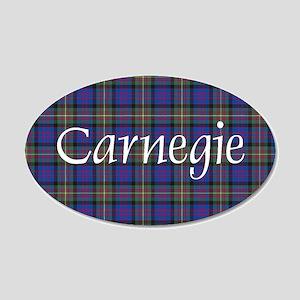 Tartan - Carnegie 20x12 Oval Wall Decal