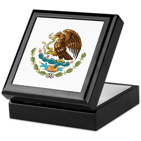 Mexico - Mexican Eagle Keepsake Box