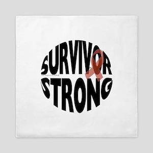 Survivor Strong Button Queen Duvet