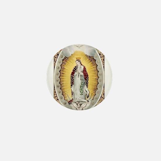 Vintage Guadalupe Mini Button