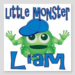 "liam-b-monster Square Car Magnet 3"" x 3"""