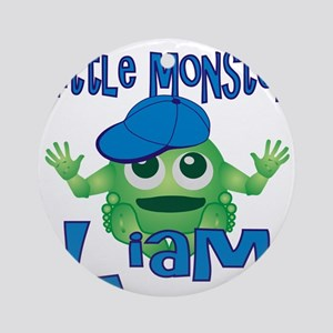 liam-b-monster Round Ornament