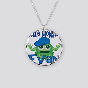 2-evan-b-monster Necklace Circle Charm