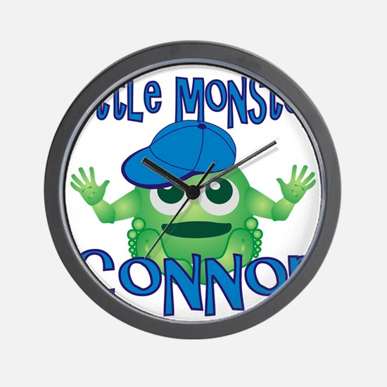 2-connor-b-monster Wall Clock