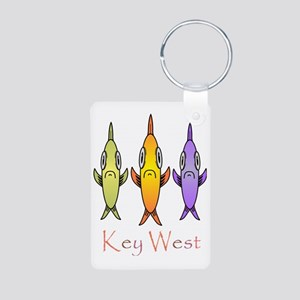 Key West Aluminum Photo Keychain