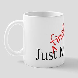 Finally Rectangle Mug