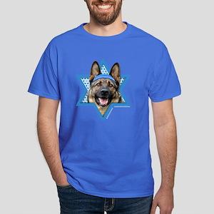 Hanukkah Star of David - Shepherd Dark T-Shirt