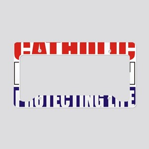 Catholic Republican (Tee2 Fro License Plate Holder
