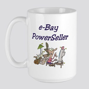 Self-Employed Large Mug