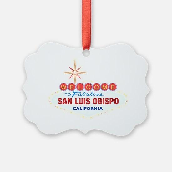 SAN LUIS OBISPO Ornament