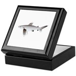 Oceanic Whitetip Shark Keepsake Box