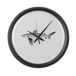 Oceanic Whitetip Shark Large Wall Clock