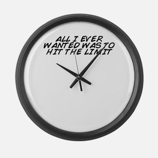 Cute All hits Large Wall Clock
