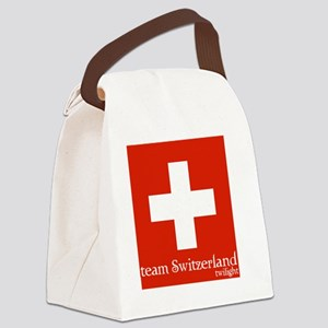 team switzerland Canvas Lunch Bag